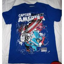 Camiseta Capitan America Avengers