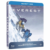 Everest 2015 Steelbook , Pelicula En Blu-ray + Dvd