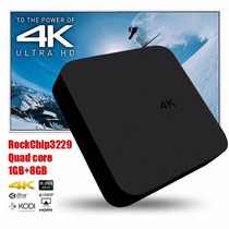 Android Tv Box 4k 1gb Wifi Tv Gratis De Cable Por Internet