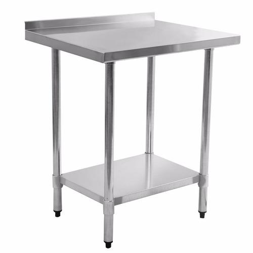 Mesa de trabajo con cubierta en acero inoxidable 0504 for Mesa de trabajo precio