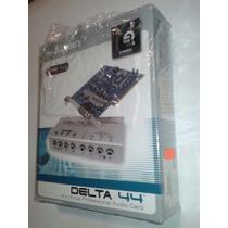 Tarjeta Pci De Audio Externa Delta 44 M-audio Garbacion Pro