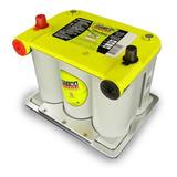 Bateria De Gel Optima Tapa Amarilla Ciclo Profundo 75/25 12v