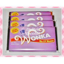 Barra De Chocolate Jumbo Personalizadas Para Recuerdo