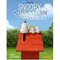 Estampas Sueltas Album Snoopy & Charlie Brown Panini