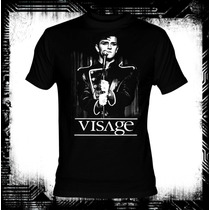 Visage Night Train Camiseta New Wave Depeche Mode Morrissey