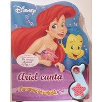 La Sirenita Ariel Libro Sonoro Disney Ariel Canta