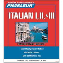Aprende Italiano Método Pimsleur 3 Niv 90 Sesiones Audio