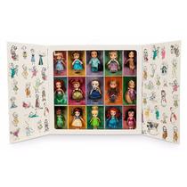 Set Muñecas Animators Mini Dolls Colección Disney Store 2015