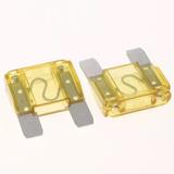 Fusible Maxi Clavija 20-30-40-50-60-70-80-100 Amp Precio Por Caja De 20 Piezas
