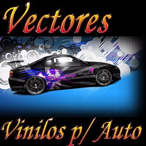 Mega Pack De Imágenes Vectorizadas Decorar Y Tunear Autos