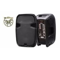 Bafle Recargable 15 Triamplificado10000w Steelpro Bluetooth