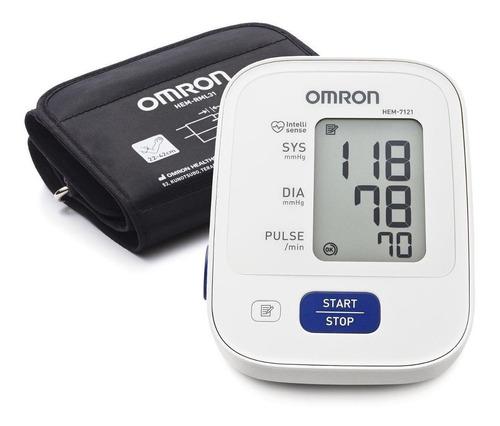 Monitor De Presión Arterial Digital De Brazo Omron Hem-7121