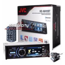 Autoestéreo Con Pantalla Jvc Kd-av41bt Ipod Iphone Bluetooth