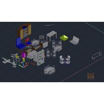 Bloques En Autocad 2d Y 3d Envió Gratis!