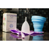 Copa Menstrual Baroo + Vaso Esterilizador + Bolsa De Tela
