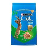 Alimento Cat Chow Defense Nature Para Gato Adulto Sabor Salmón/pollo En Bolsa De 7.5kg