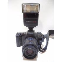 Camara Pentax Con Flash Zx-10 F495
