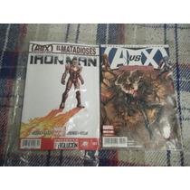2 Comics A Vs X Consecuencias Y El Matadioses Ironman Mexic