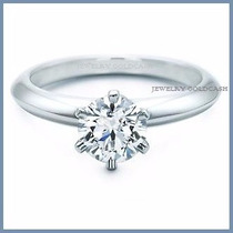 Anillo De Compromiso Diamante Natural .35ct Oro 18k -50% 146