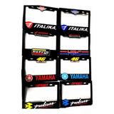 Portaplaca Moto Honda Yamaha Italika Ktm Red Bull Doctor 46