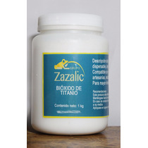 Bioxido De Titanio Pigmento Blanco Gran Poder Cubriente