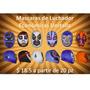 Mascaras De Luchador Economicas Unitalla, Fiestas, Batucadas