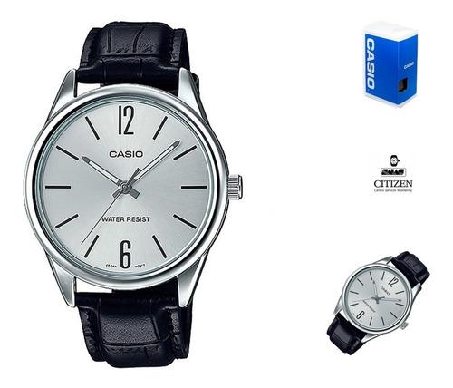 Reloj Casio Mtpv005 Correa Piel Hombre *watchsalas* Full en