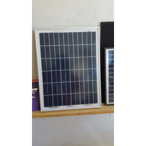 Modulo Panel Solar De 20 Watts 12 Vcd. Flete Incluido.