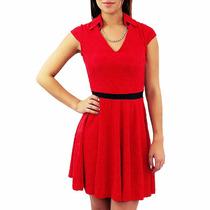 Vestido Sexy Rojo Coqueto Y A La Moda
