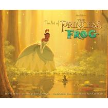 Libro Arte La Princesa Y El Sapo The Princess And The Frog