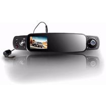 Camara De Video Para Auto Coche Con Triple Lente Dvr Reversa
