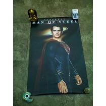 Superman Man Of Steel Poster Fisico Batman Vs Superman