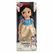 Disney Store Muñecas Animators Blanca Nieves Originales