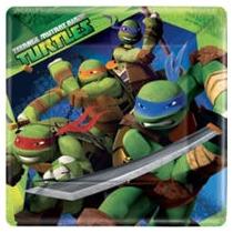 Tortugas Ninja De Fiesta Platos Vasos Y Mas