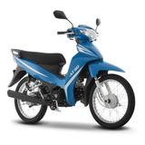 Moto Italika At110 Azul Blanco