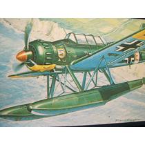 2a7 Modelismo Militar Heller Arado Ar 196a Escala 1/72