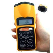 Medidor De Distancian Ultrasonico Con Mira Laser 18 Metros
