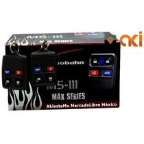 Auto Alarma Audiobahn Ms111 + Relevador Automotriz 40a / 12v