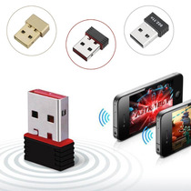 Adaptador Tarjeta Wifi Mini Usb Inalambrico 2.4 Ghz Bgn