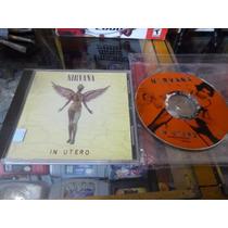 Nirvana In Utero Cd Original Usado