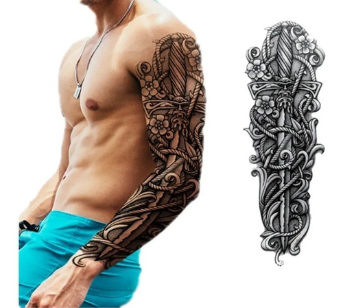 Paq 4 Tatuajes Temporales