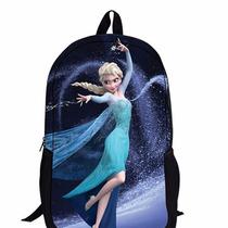 Mochila Frozen Elsa Importada Primaria Niña Original Barata