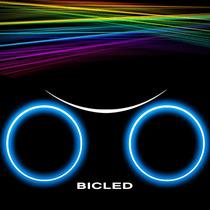 Bicled Luz Bicicleta Tron Rueda Luminosa Led Sensor Sos Moto