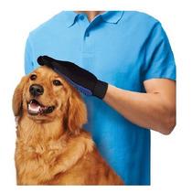 Guante Cepillo Mascotas Blue Touch Perro Gato Veterinaria