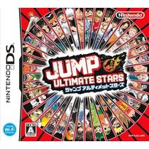 Jump Ultimate Stars Nintendo Ds Japones