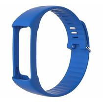 Extensible Intercambiable Para Reloj Polar A360 Azul Median