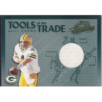 2002 Absolute Mem Tott Jersey Brett Favre Qb Packers 85/150