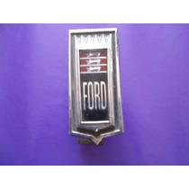 Emblema Ford Galaxie 1971 - 1972 Para Parrilla Original