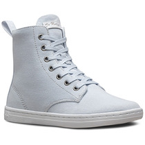 Tenis Bota Dama Hackney Blue Moon Canvas Azul Dr Martens
