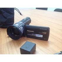 Camara Panasonic Hc-x900 Con Lente De Conversion A 3d